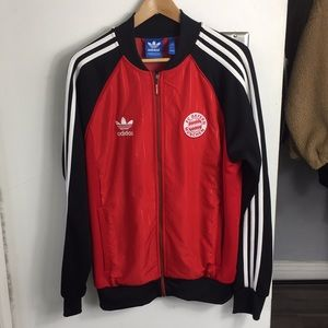FC Bayern adidas zip up sweater